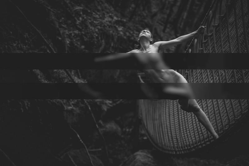Seelenschmetterling | The Bridge I / Nude | photography by Photographer dunkeltraum ★13 | STRKNG
