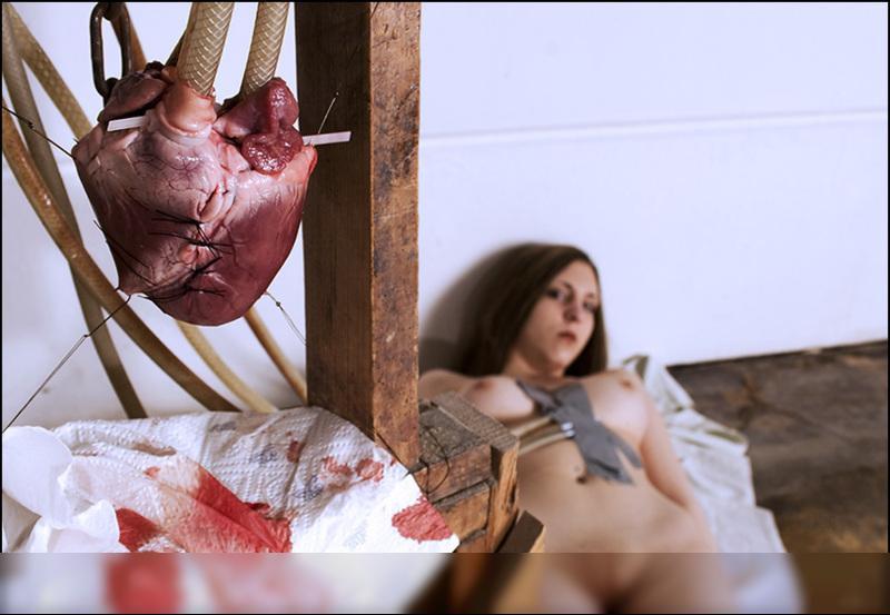 ich hab in deinem herzen nachgesehen und keine liebe gefunden / Nude | Fotografie von Fotograf herr stocker | STRKNG